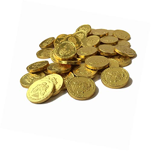 Milk Chocolate Gold Coins - 1.5 Lbs. -