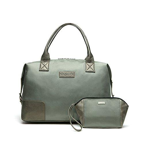 Bolsos del negocio/bolso de equipaje corto de gran capacidad de los hombres/bolso del paño de oxford-E H