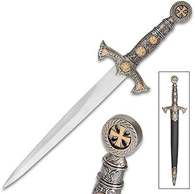 Amazon com : Tomahawk Crusader Cruciform Short Sword with