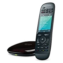 Logitech Harmony Ultimate Home Touch Screen Remote for 15 Home Entertainment and Automation Devices (Black) - 915-000237