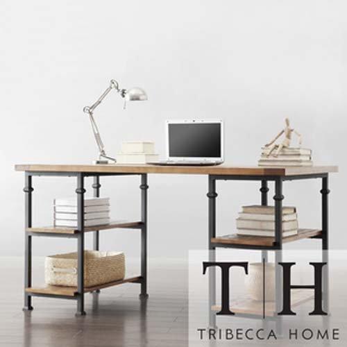 Oak Wide Desk - 5