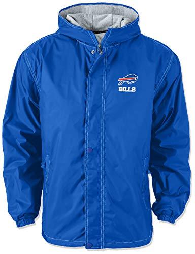 17685cab93b Dunbrooke Apparel NFL Buffalo Bills Legacy Nylon Hooded Jacket