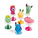 Monster Pop-Ups - Prizes and Giveaways - 12 per Pack - From Fun365