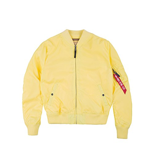 1 Bomber Alpha Lemon Tt Ma Industries Giallo wtATvt