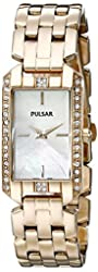 Pulsar Women's PRW006 Gold-Tone Watch
