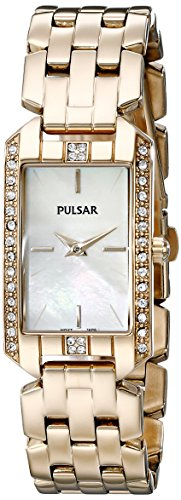 Pulsar Women's PRW006 Gold-Tone Watch