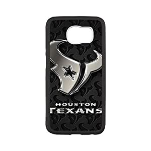 DIY phone case Houston Texans skin cover For Samsung Galaxy S6 SQ750841