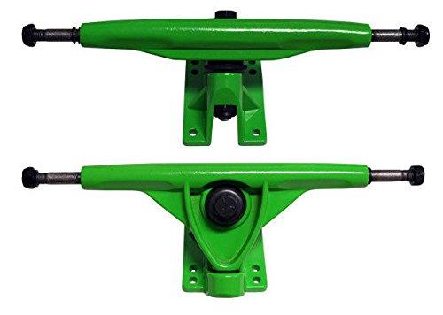 グリーン180 mm逆Longboard Skateboard Cruiser Trucks 180 Downhillアルミ B01N4MFS5Y