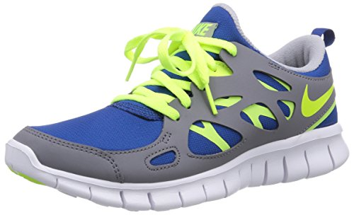 Chaussures mixte Blue enfant cool de Gym 405 Run 2 Grey Multicolore Free white running Gs Volt NIKE I0p4n