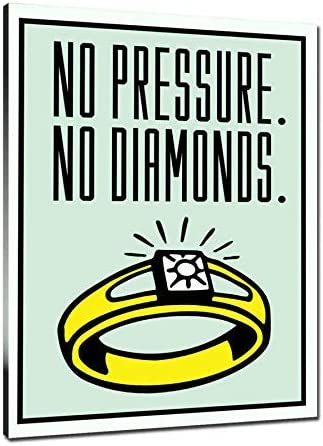 HD Print Alec Monopoly Oil Painting Decor Art on Canvas No Pressure No Diamonds