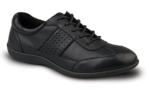 Revere Seattle Zapatillas De Confort Para Mujer Con Plantilla Extraíble: Negro 7 Medio (b) De Encaje