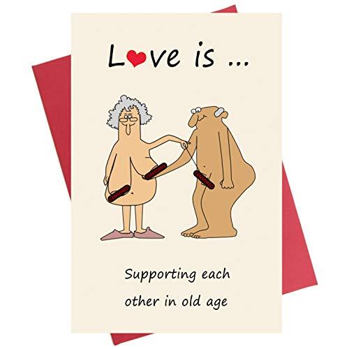 Funny Anniversary Card Birthday Card Valentine#039s Day Card for Boyfriend Girlfriend Wife Husband