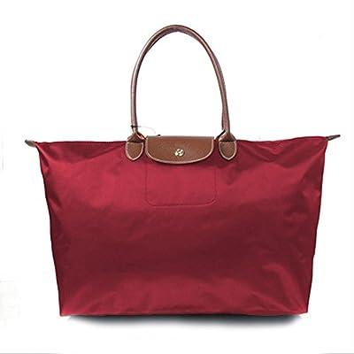 Calunce Women's Stylish Waterproof Tote Shoulder Bag L/XL