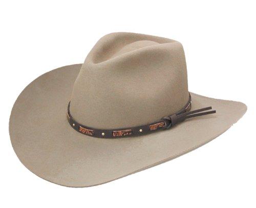 3687d9d0b96 Stetson Mens Hutchins Wool Cowboy