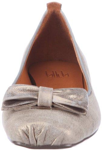 billi bi Copenhagen 4519002, Damen Ballerinas Silber (Capuchina columbia 02 02)