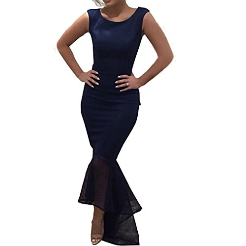 Leezeshaw - Vestido - para mujer Azul
