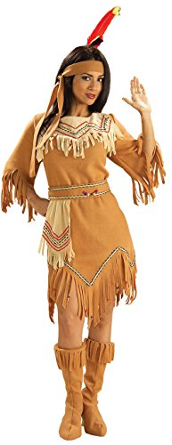 Maiden Indian Costume (Forum Novelties Women's Adult Native American Maiden Costume, Multi Colored, One Size)