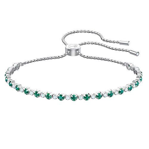 (Swarovski Crystal Subtle Green Bolo Bracelet)