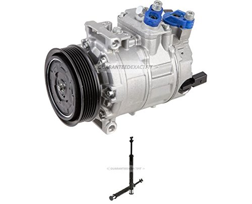Premium Quality New AC Compressor & Clutch With A/C Drier For VW Passat - BuyAutoParts 60-86481R2 New (Vw Passat Ac Compressor compare prices)
