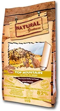 Natural Greatness Top Mountain Alimento Seco Completo para Gatos ...