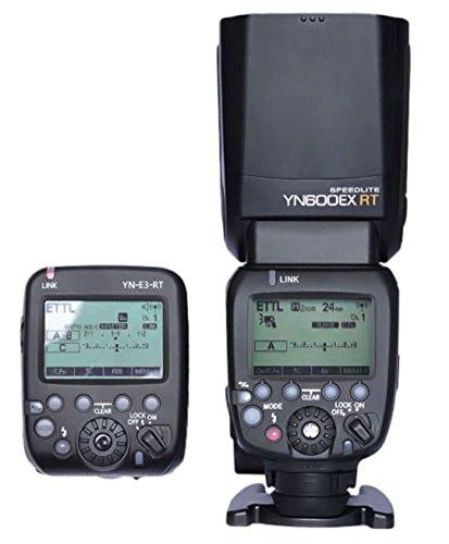 Yongnuo Yn600ex-rt 2.4g Wireless HSS Flash with Yn-e3-rt Radio Transmitter Set Light for Canon 1dx 1ds III 1d 5diii 5dii 6d 7d 70d 60d 50d 40d 700d/t5i 650d/t4i 600d/t3i 550d/t2i 500d/t1i 450d/xsi 1100d 1000d Dslr Camera Lamp Illumination