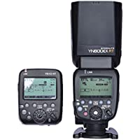 Yongnuo Yn600ex-rt 2.4g Wireless HSS Flash with Yn-e3-rt Radio Transmitter Set Light for Canon 1dx 1ds III 1d 5diii 5dii 6d 7d 70d 60d 50d 40d 700d/t5i 650d/t4i 600d/t3i 550d/t2i 500d/t1i 450d/xsi 1100d 1000d Dslr Camera Lamp Illumination