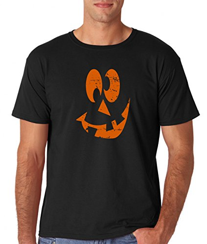 AW Fashions Funny Halloween Shirt - Spooky Hocus Pocus Horror Shirts - Costume T-Shirts Jack O Latern Pumkin Tshirts (Jack-O-Lantern 2, XX-Large)]()