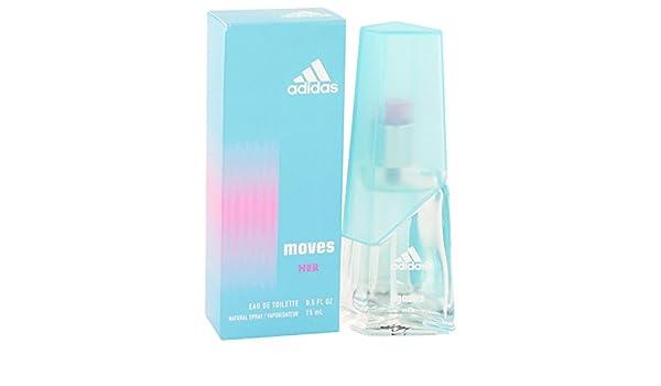 adidas SE MUEVE por Adidas para mujer Eau De Toilette Spray 0,5 oz 15 ml: Amazon.es: Belleza
