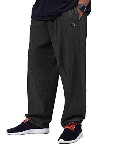 - Champion Big & Tall Men's Jersey Pants with Elastic Bottom