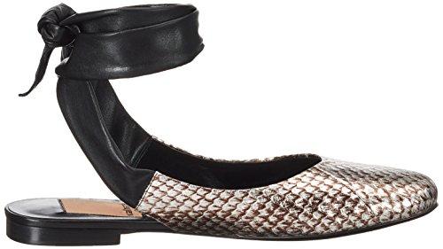 Argento Donna Argento alla cinturino Sandali caviglia 371 Kallisté con 5034 1 x688fR