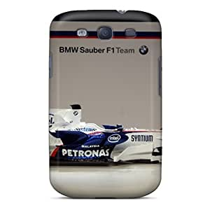 Awesome Abq2076RKtS Harries Defender Tpu Hard Case Cover For Galaxy S3- Bmw Sauber F1 Side View