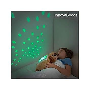 InnovaGoods - Peluche proyector pingüino (IGS IG115878)