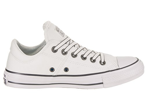 Converse Dames Chuck Taylor All Star Madison Ox Casual Schoen Wit / Gunmetal / Wit