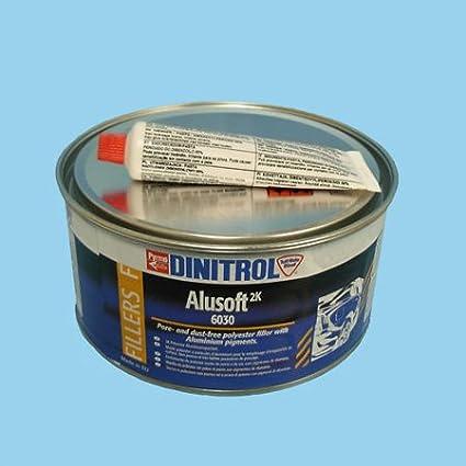 TOPCAR Mastic Extra Fin Aluminium boîte de 2kg densité élevée SE93016