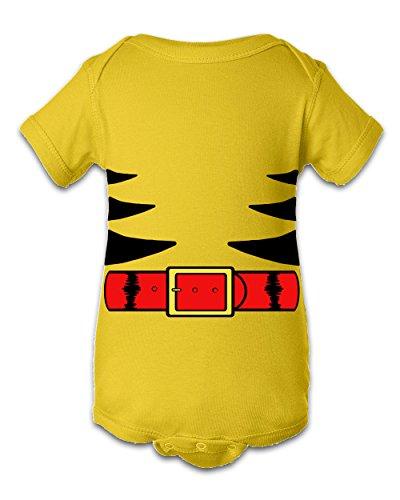 Tee Tee Monster Baby Wolverine Inspired Onesie (newborn, yellow)
