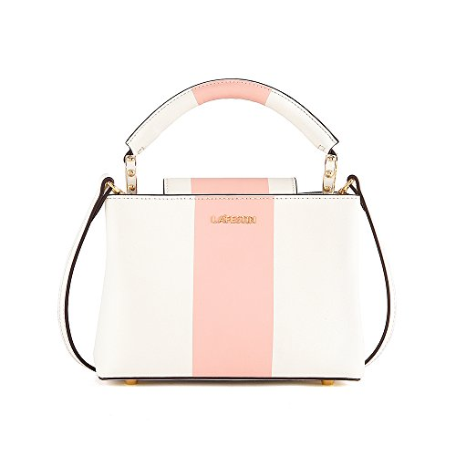 LA'FESTIN Designer Fashion Shoulder Tote bag Handbags in Genuine Leather, Luxury Trendy Accessorize Hobo Large Classic Purses for Ladies, Women,Travel and More