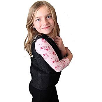 Stretch Denim Weighted Vest to reduce Wiggles, Fidgets, Anxiety