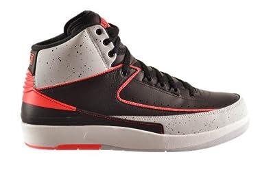 Air Jordan 2 Retro Quarter Finals White Black Red shoes