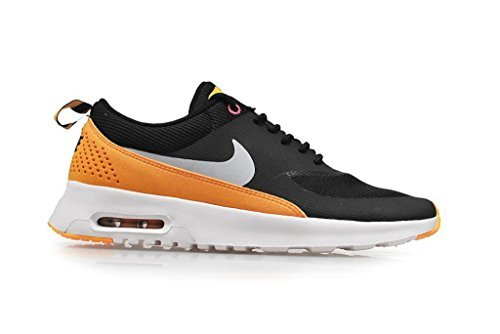 nike womens air max Thea running trainers 599409 sneakers shoes (UK 3.5 us 6 EU 36.5, Black/Black-Atomic Mango-Pink Glow(010)) -