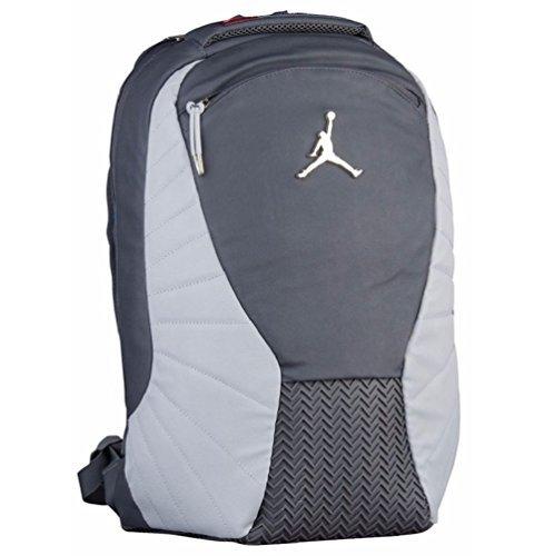 Nike Jordan Retro 12 Backpack W/ Laptop Pocket Dark Grey by NIKE