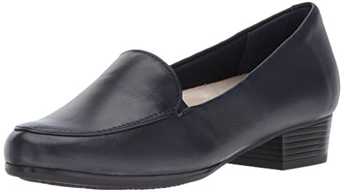 Trotters Women's Monarch Flat, French Navy, 10 W US
