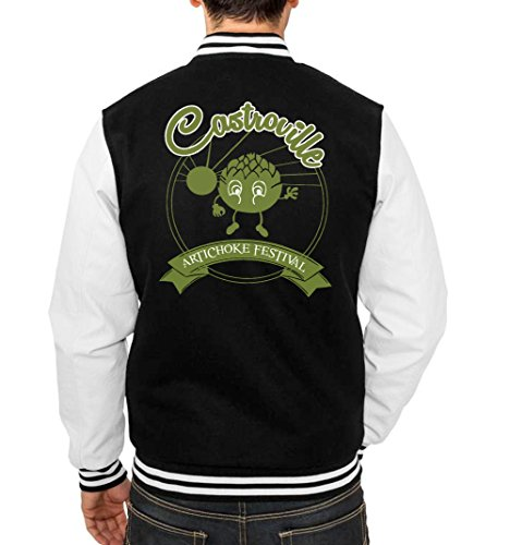 Castroville Fest College Vest Black Certified Freak