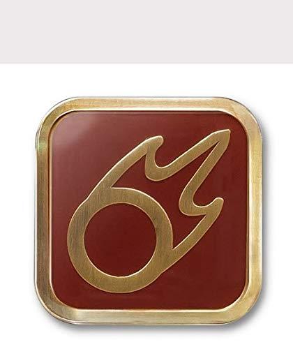 Final Fantasy XIV job icon pin - Black Mage