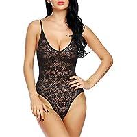Fihana Babydoll Lingerie Nightwear Sleepwear Dress for Women/Ladies Net Fabric- Free Size