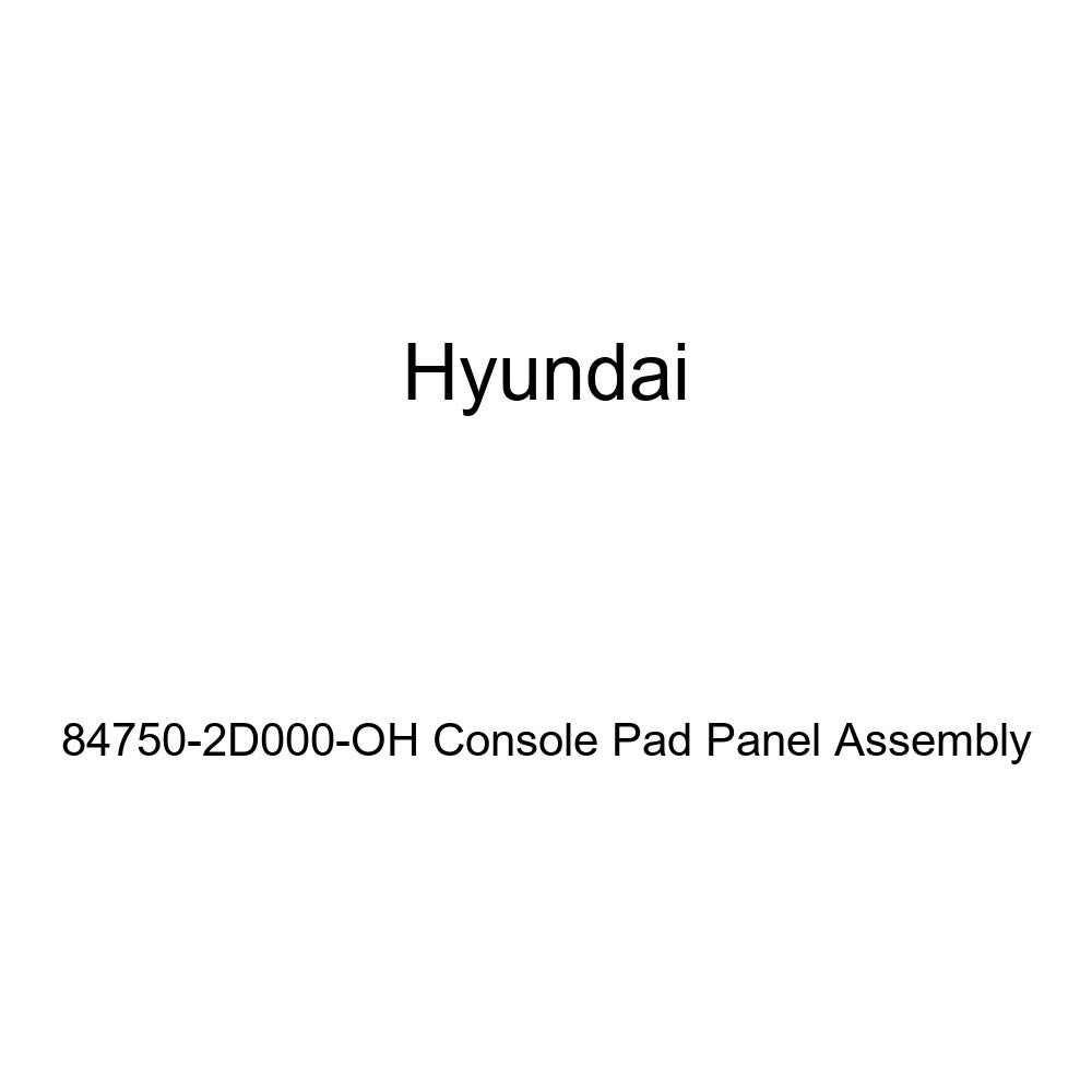 Genuine Hyundai 84750-2D000-OH Console Pad Panel Assembly