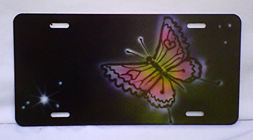 Butterfly Rainbow with Background Profil - Airbrush Plate Shopping Results