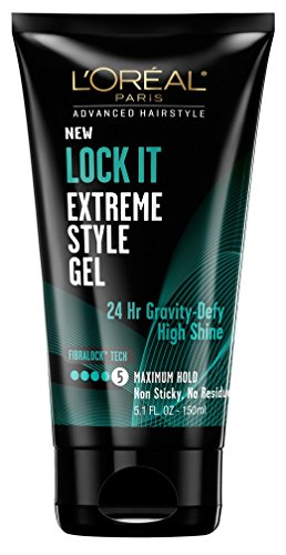 - L'Oréal Lock It Extreme Style Gel, 5.1 Ounce (3 Pack)