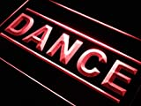 ADVPRO Dance School Lure Display LED Neon Sign Red 24'' x 16'' st4s64-j267-r