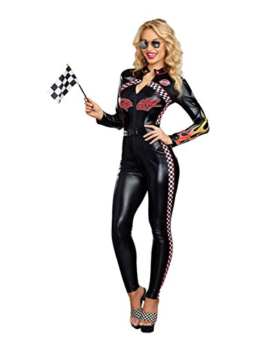 Dreamgirl Women's Start Your Engines, Multi, ()