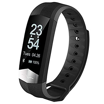 GoYisi Smart Wristbands CD01 0 96 inch OLED Display Bluetooth Intelligence ECG and Heart Rate Smart Bracelet IP67 Waterproof Support Blood Pressure ECG Heart Rate Monitor Pedometer Calls Rem Estimated Price -